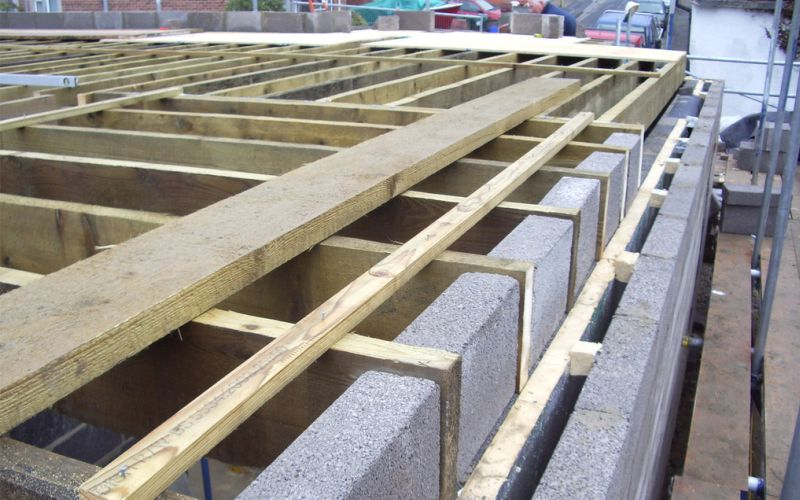 1st floor joists smc construction ltd for Floor joist construction