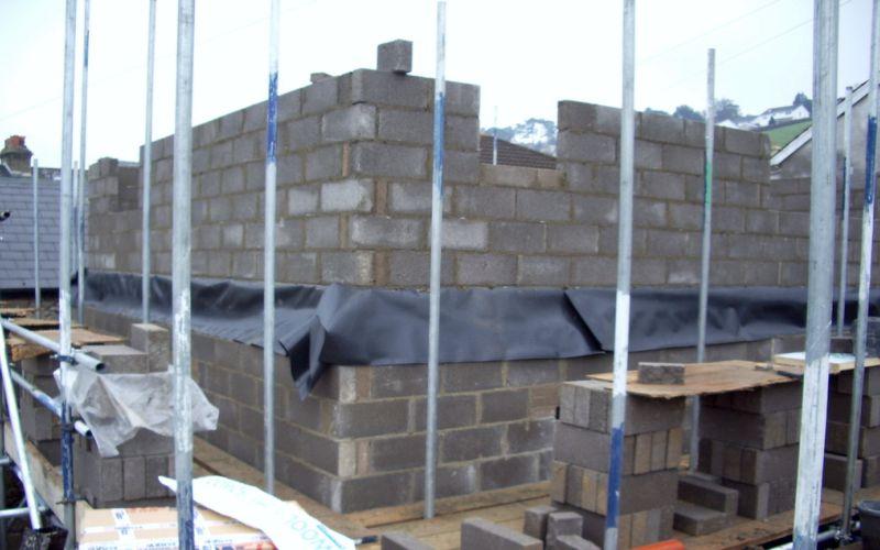 Cavity Block & Brick Work